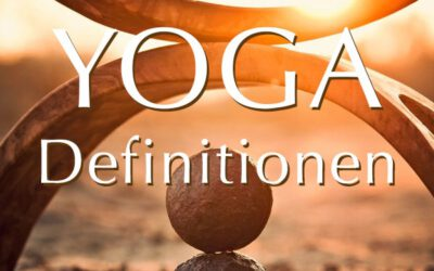 """Definitionen von """"Yoga"""""""